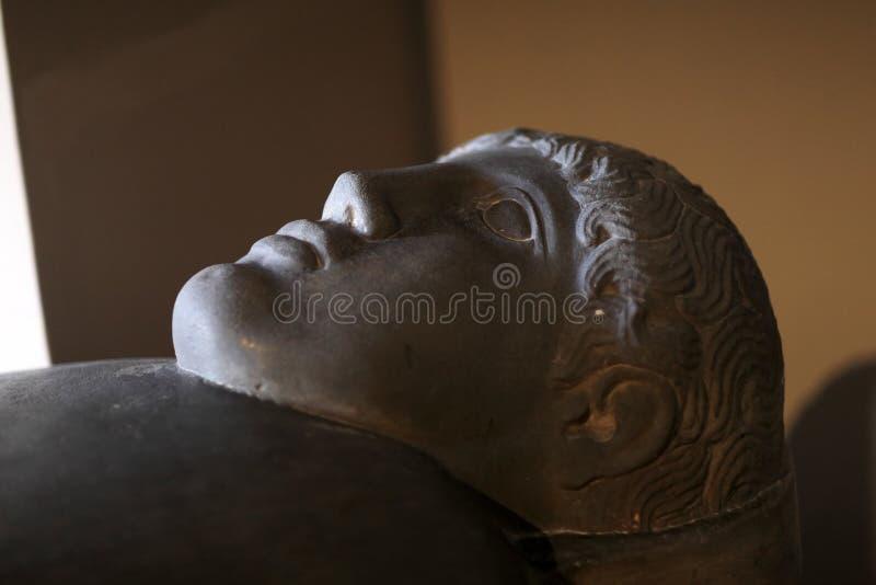 Детали саркофага стоковое изображение