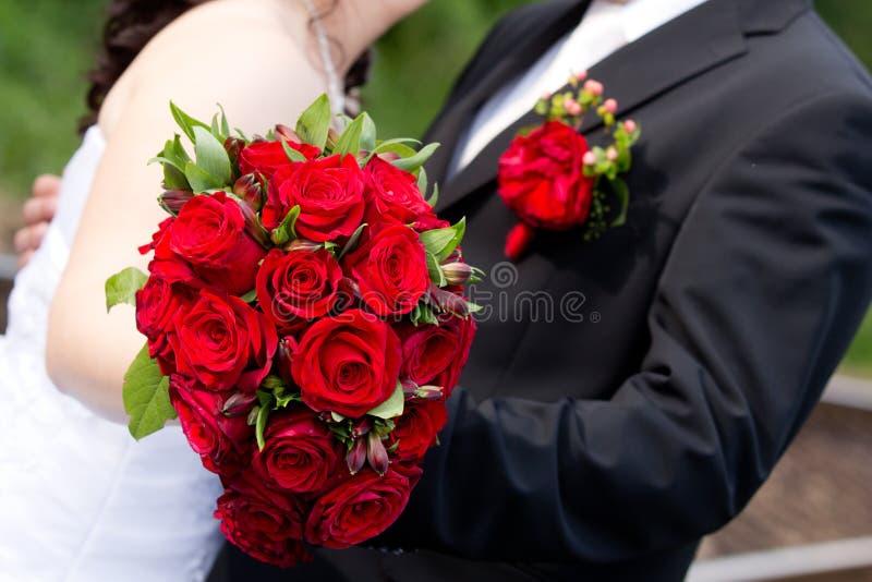 Детали свадьбы стоковые изображения