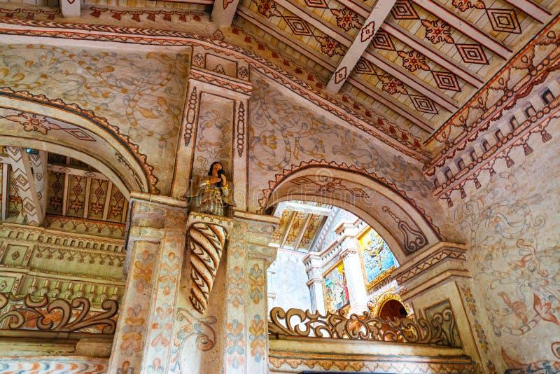 Детали церков Сан Ксавьера стоковая фотография rf