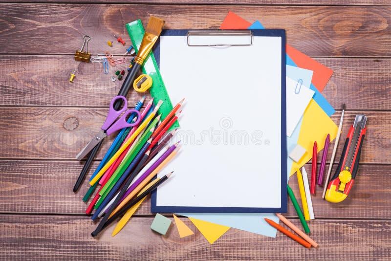 Детали для творческих способностей детей стоковые изображения rf