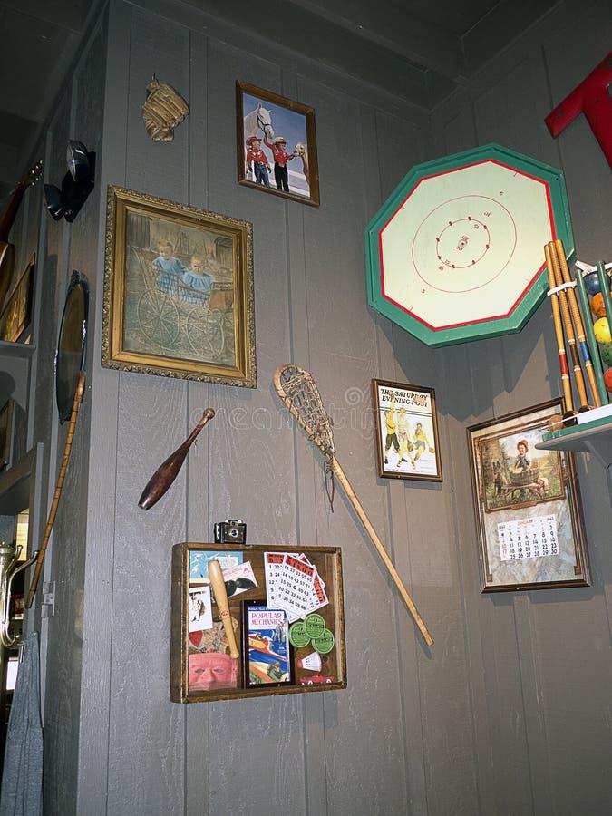 Детали Historial в ресторане в саванне в Georgia США стоковая фотография rf