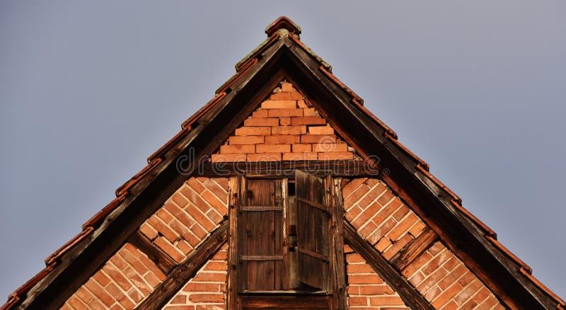 Детали timbered дома стоковое изображение