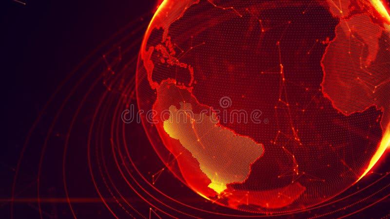 Детальная виртуальная земля планеты бесплатная иллюстрация
