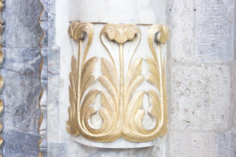 Деталь архитектуры Seljuk стоковые изображения