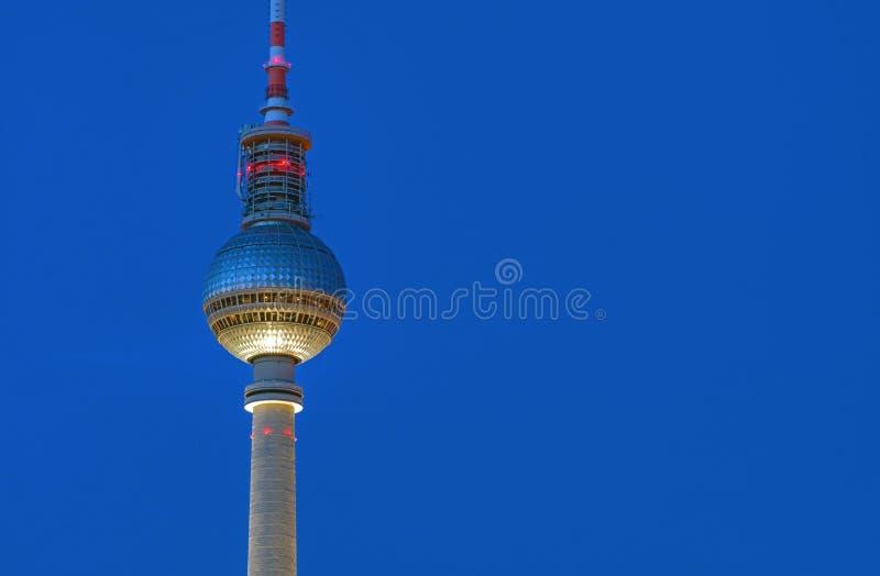 Деталь башни ТВ в Берлине стоковые фотографии rf
