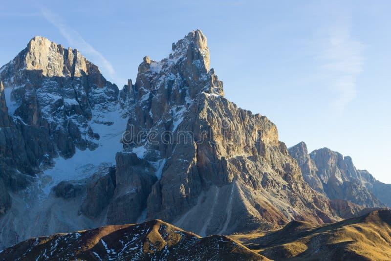 Деталь высокой горы стоковая фотография rf