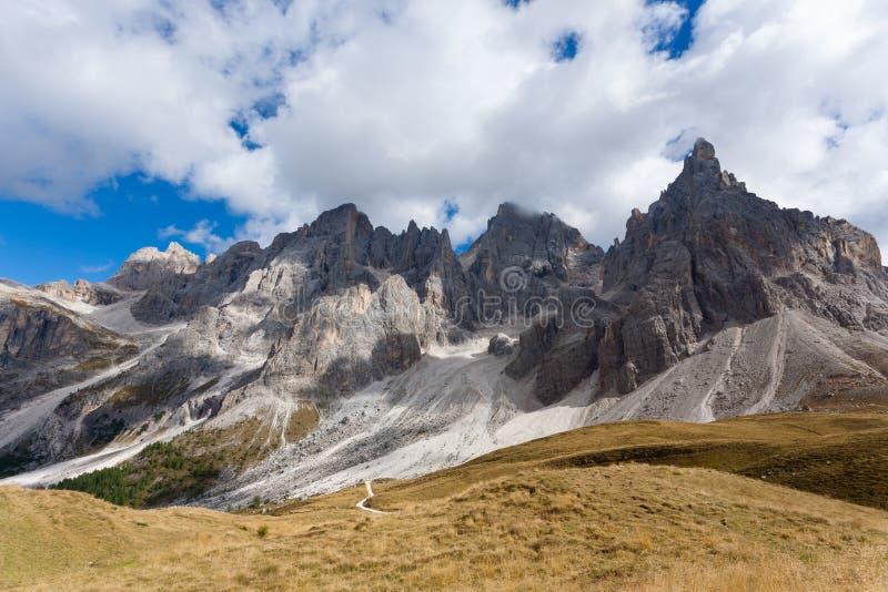 Деталь высокой горы стоковые фотографии rf