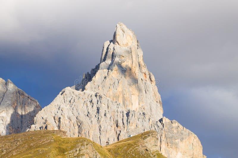 Деталь высокой горы стоковое фото
