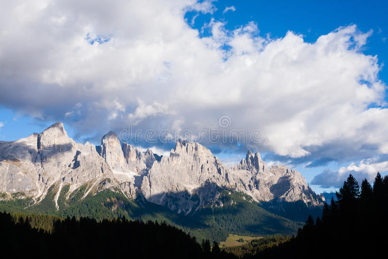 Деталь высокой горы стоковое изображение
