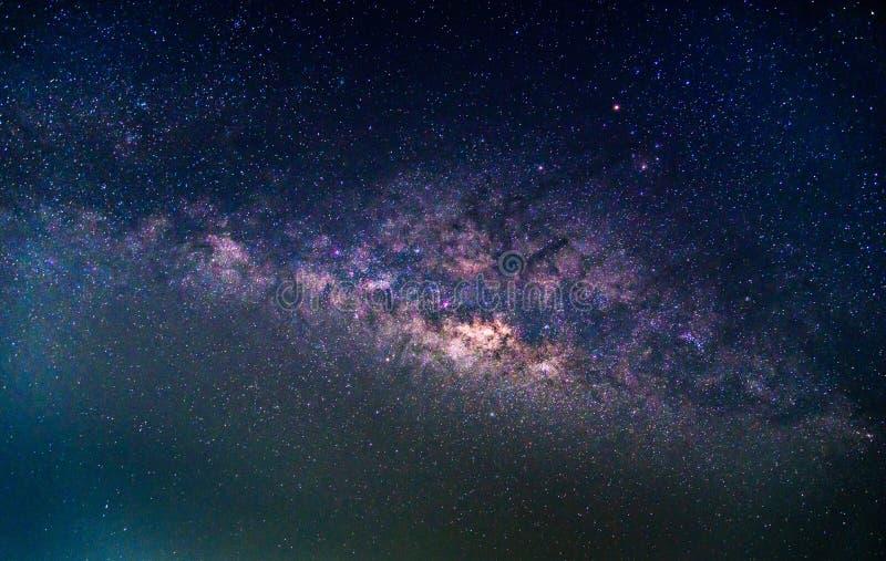 Деталь галактики млечного пути, долгая выдержка стоковые изображения rf