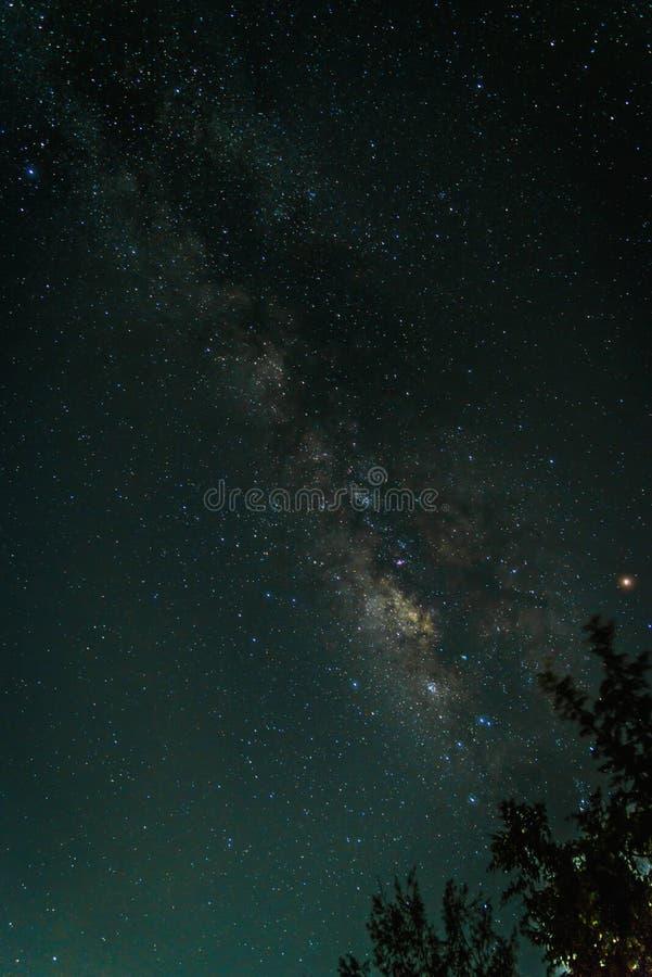 Деталь галактики млечного пути стоковые изображения rf