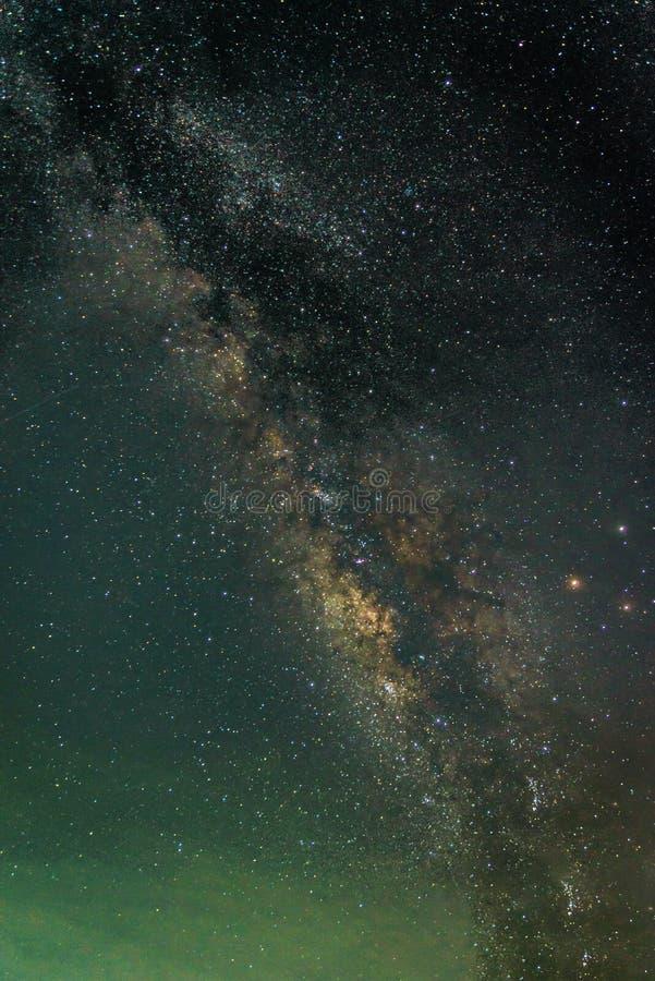 Деталь галактики млечного пути стоковые изображения