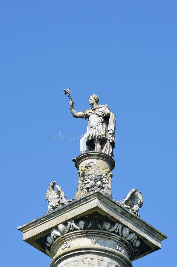 Деталь герцога столбца победы Marlborough стоковая фотография rf