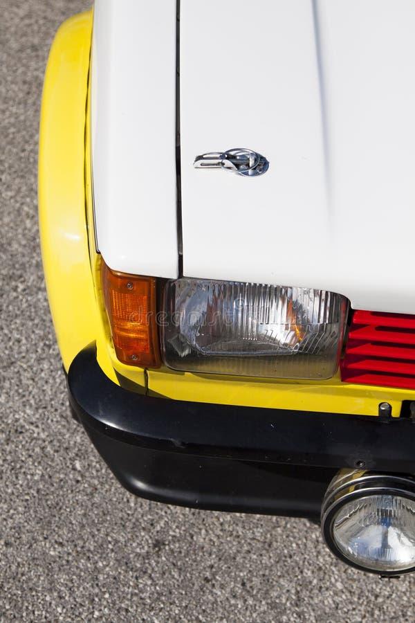 Деталь гоночного автомобиля стоковые фото