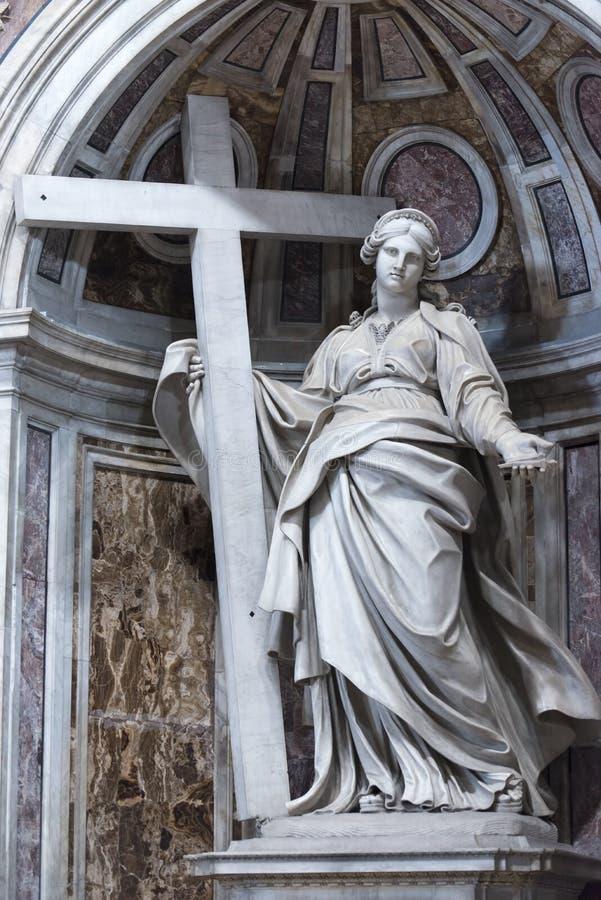 Деталь государства Ватикан базилики St Peter стоковые фото