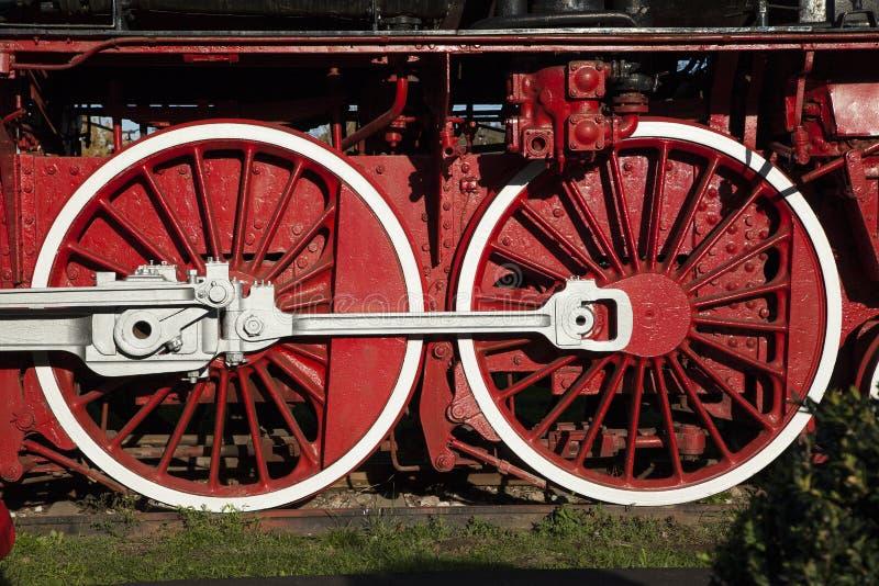 Деталь колес стоковая фотография