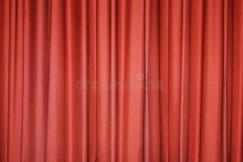 Красный занавес стоковая фотография
