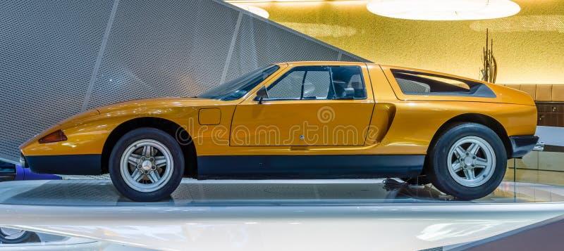 Деталь Мерседес-Benz F400 автомобиля концепции высекая, 2001 стоковое изображение rf