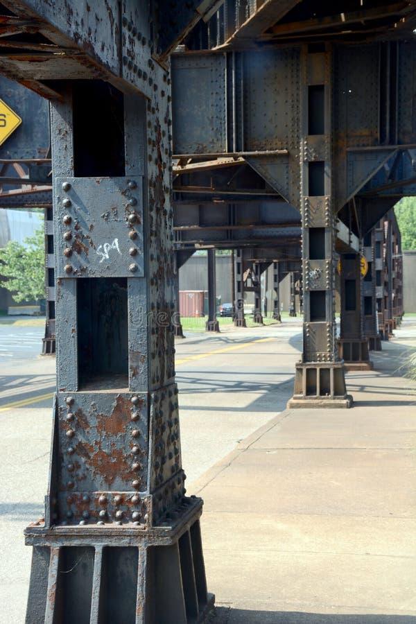 Деталь моста стоковое изображение rf