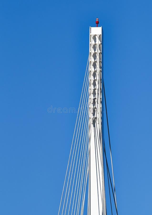 Деталь моста Thaon di Наслаждать стоковая фотография