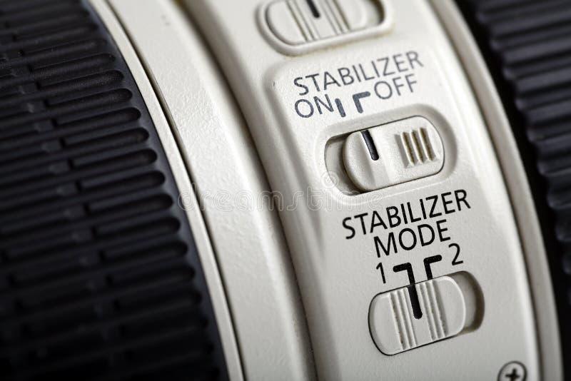 Стабилизатор объектива фото стоковая фотография rf
