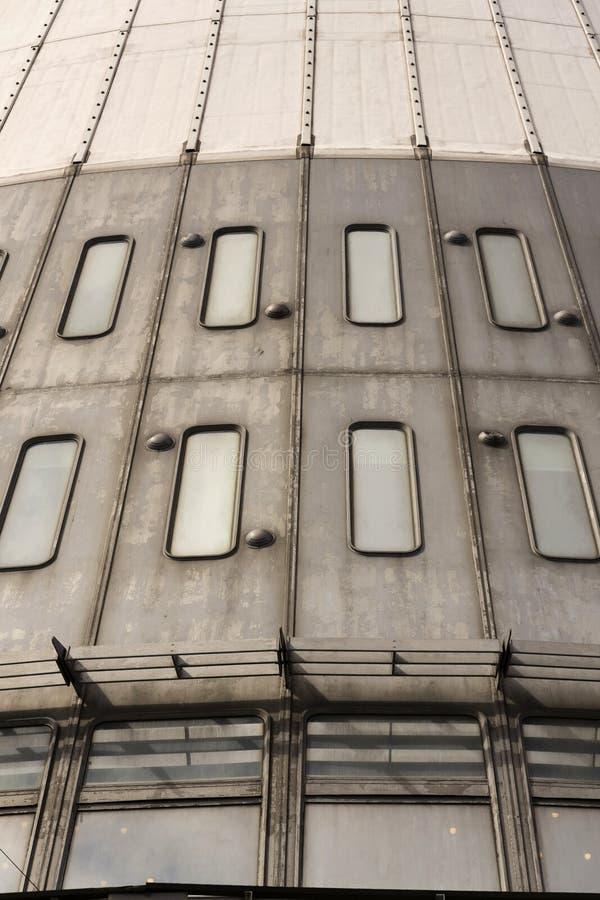 Деталь передатчиков радиосвязи возвышается на Jested, Либерец, чехия стоковые фото