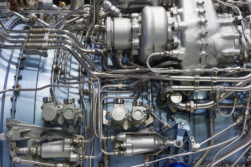 Деталь реактивного двигателя стоковая фотография rf