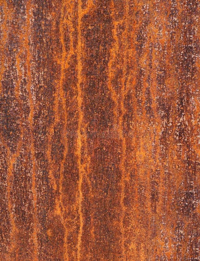 Деталь ржавой поверхности металла стоковая фотография rf
