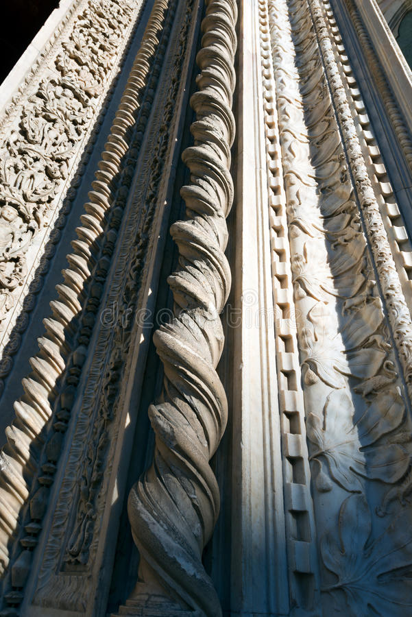 Деталь собора Флоренса стоковое изображение rf