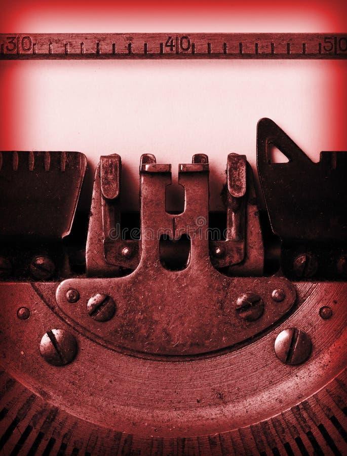 Download Деталь старой машинки стоковое изображение. изображение насчитывающей письмо - 40578471