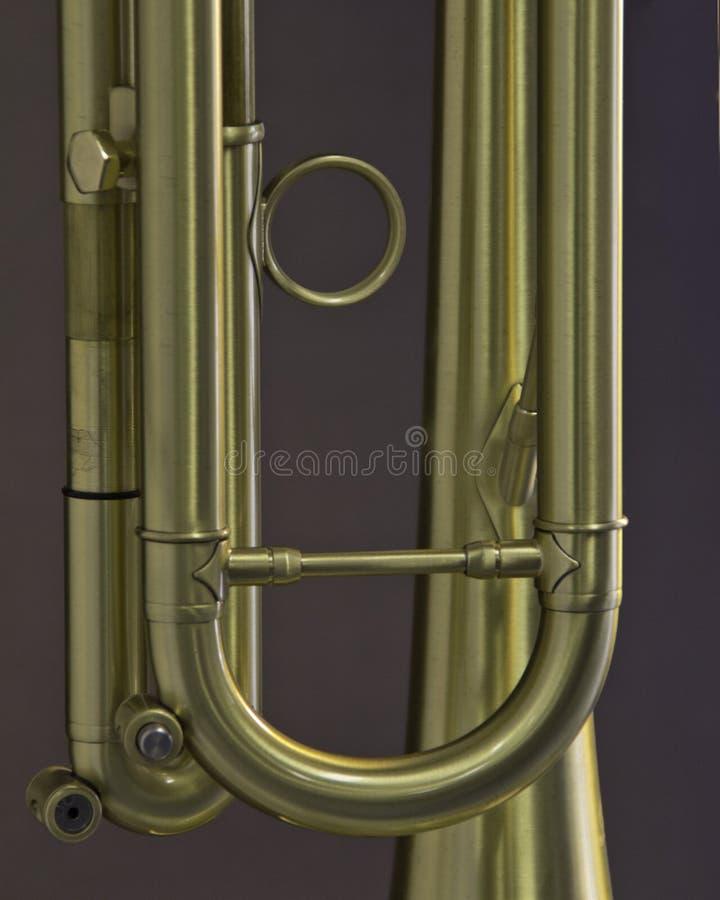Деталь трубы золота стоковые изображения