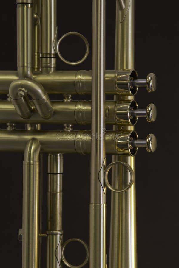 Деталь трубы золота стоковое изображение rf