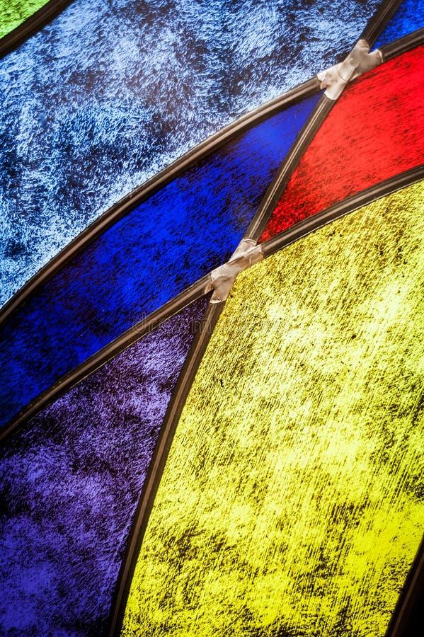 Деталь цветного стекла стоковые фотографии rf