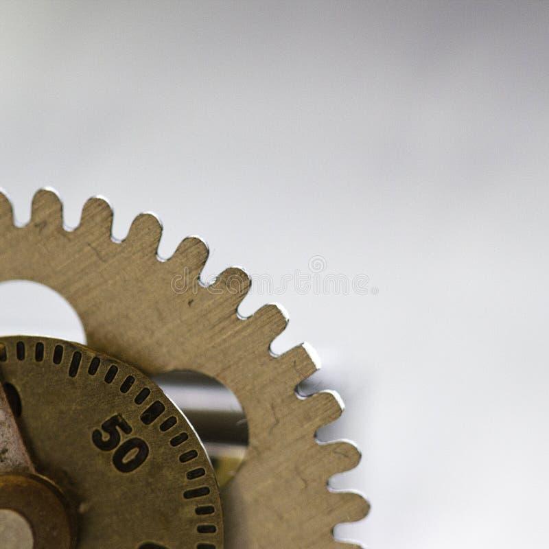 Деталь шестерни часов стоковое фото rf