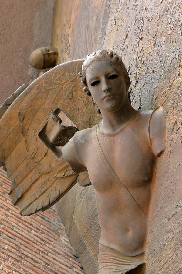 Деталь dei Martiri Angeli e degli Santa Maria базилики строба стоковые изображения rf