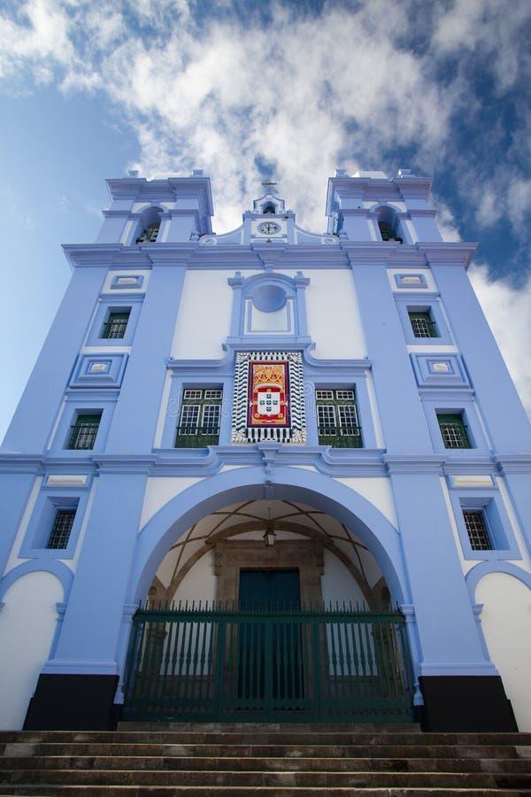 Деталь Igreja da Misericordia, Азорских островов стоковое фото