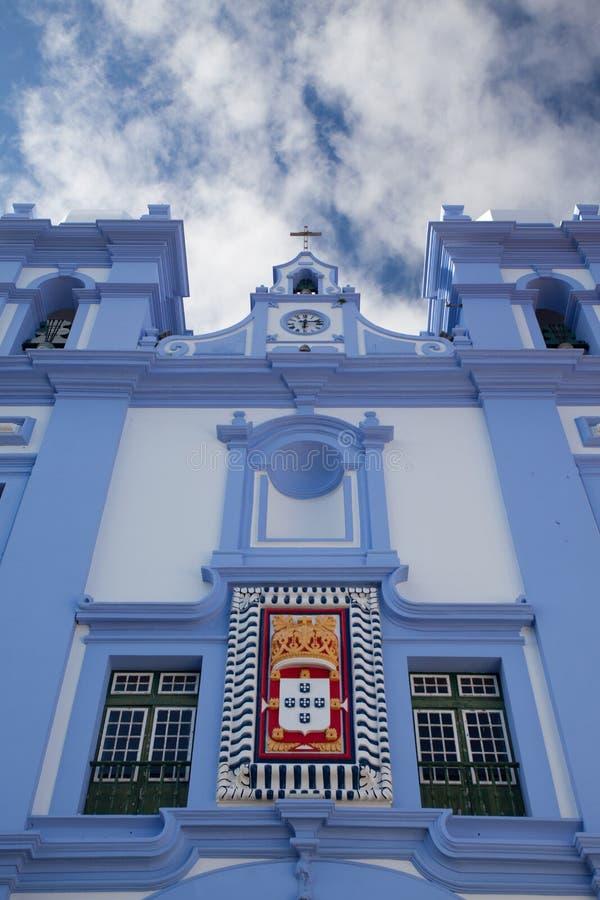 Деталь Igreja da Misericordia, Азорских островов стоковое изображение rf