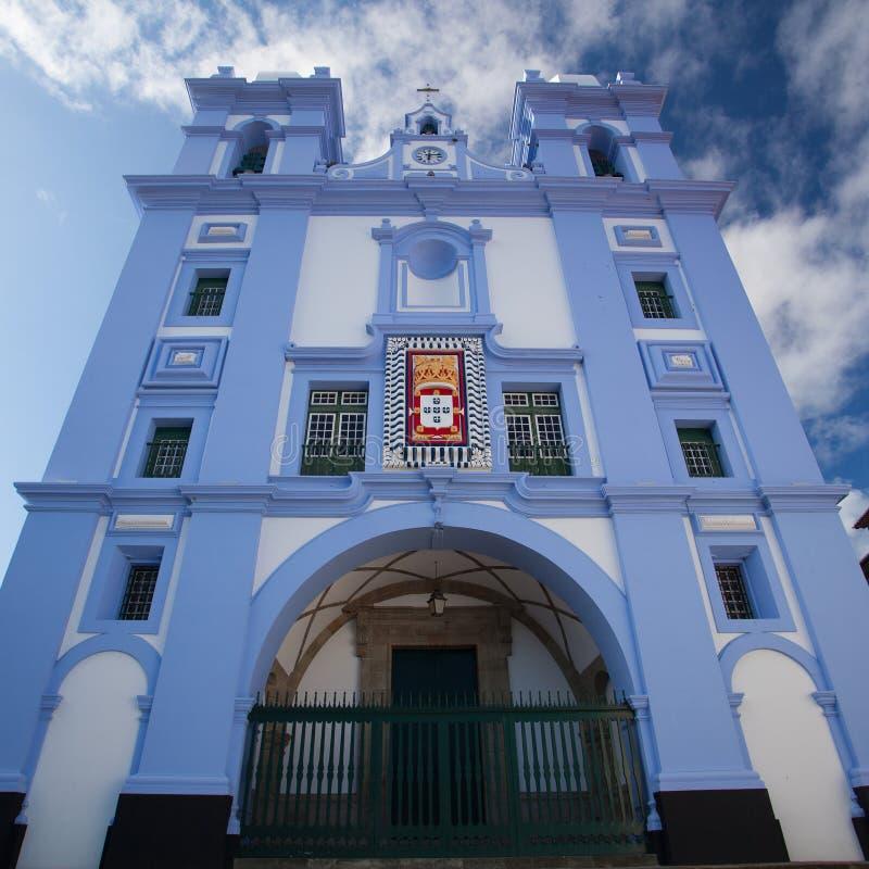 Деталь Igreja da Misericordia, Азорских островов стоковые фото