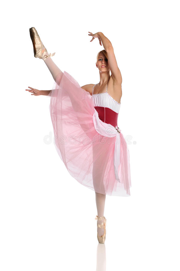 детеныши балерины выполняя стоковые изображения rf
