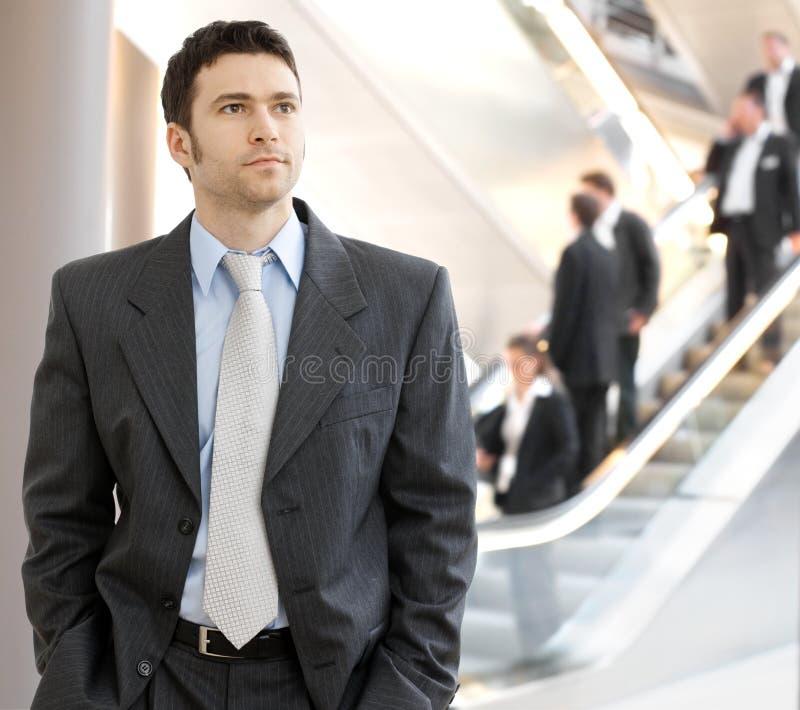 детеныши бизнесмена стоковое изображение rf