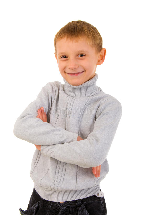 детеныши взгляда портрета мальчика передние стоковые изображения