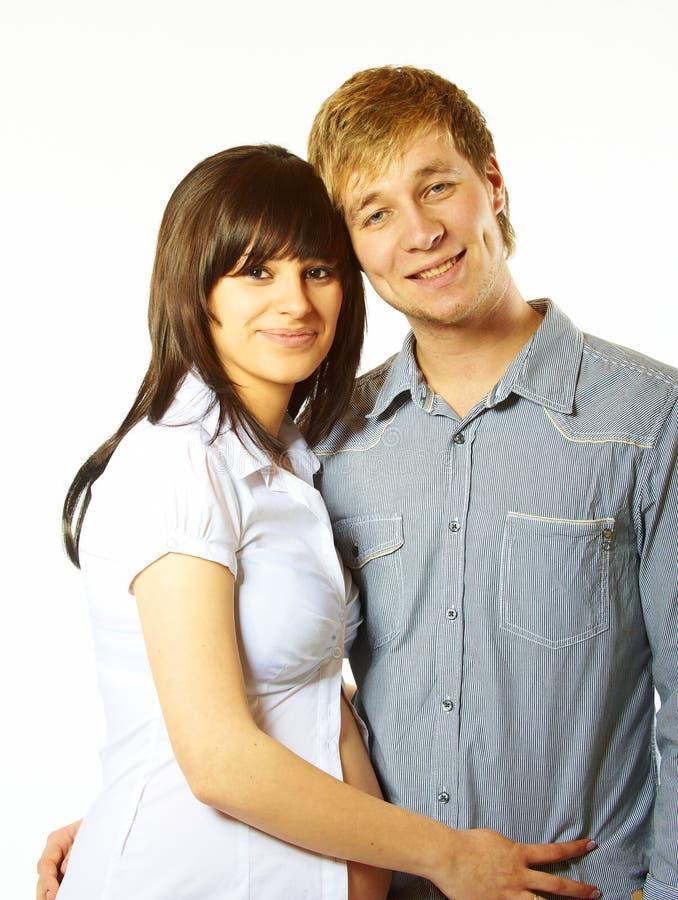 детеныши влюбленности пар счастливые стоковые изображения rf
