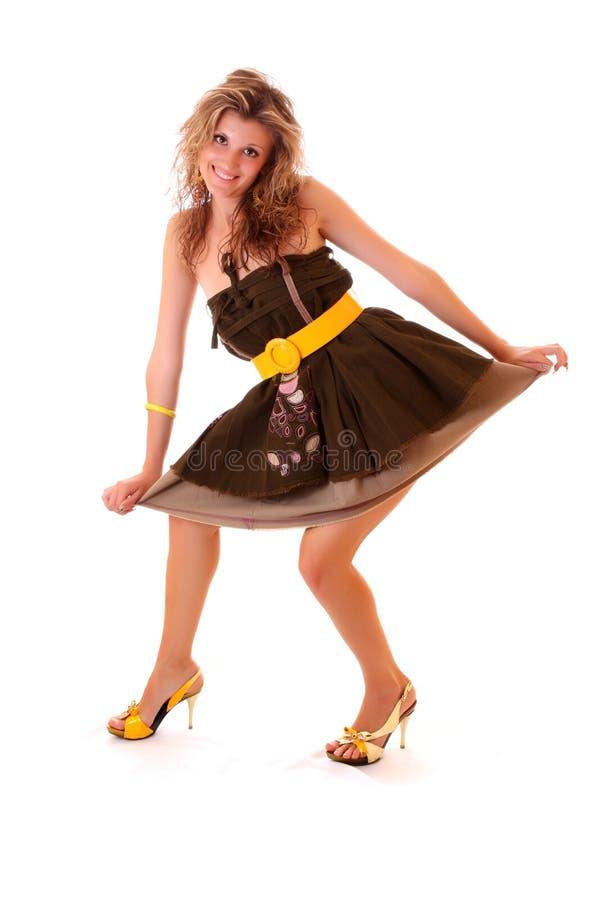 Девушки в платьях смешное
