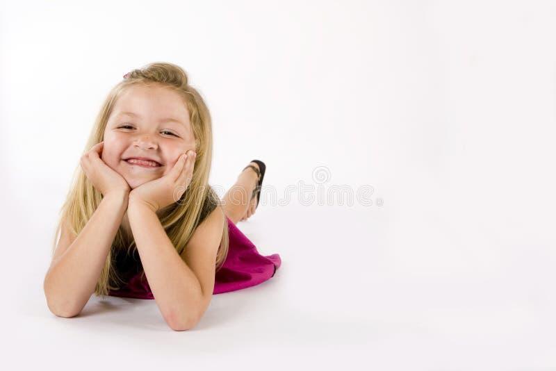 детеныши девушки стоковое фото