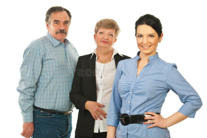 детеныши женщины бизнеса лидер стоковое фото rf