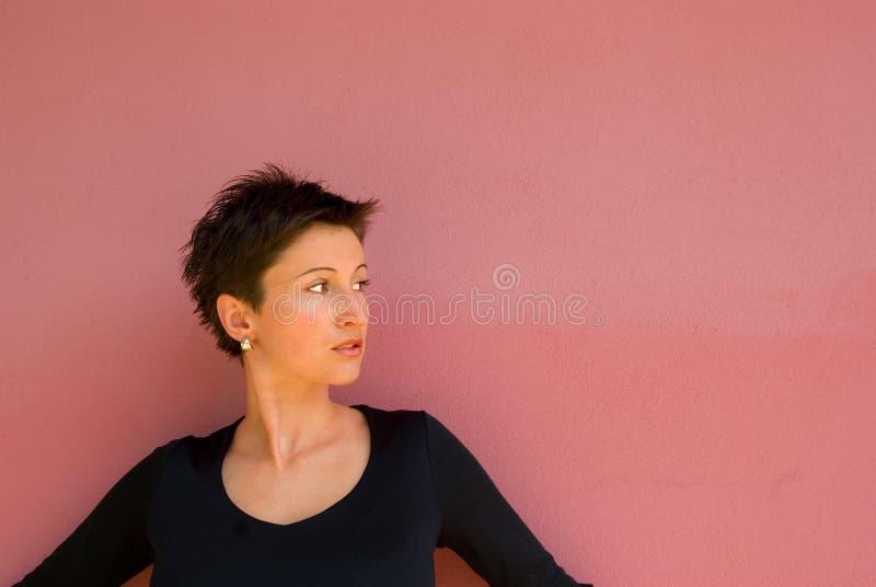 детеныши женщины передней стены Стоковое Фото
