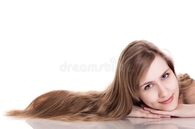 Download детеныши женщины портрета красотки естественные Стоковое Фото - изображение насчитывающей чисто, complexion: 18381810