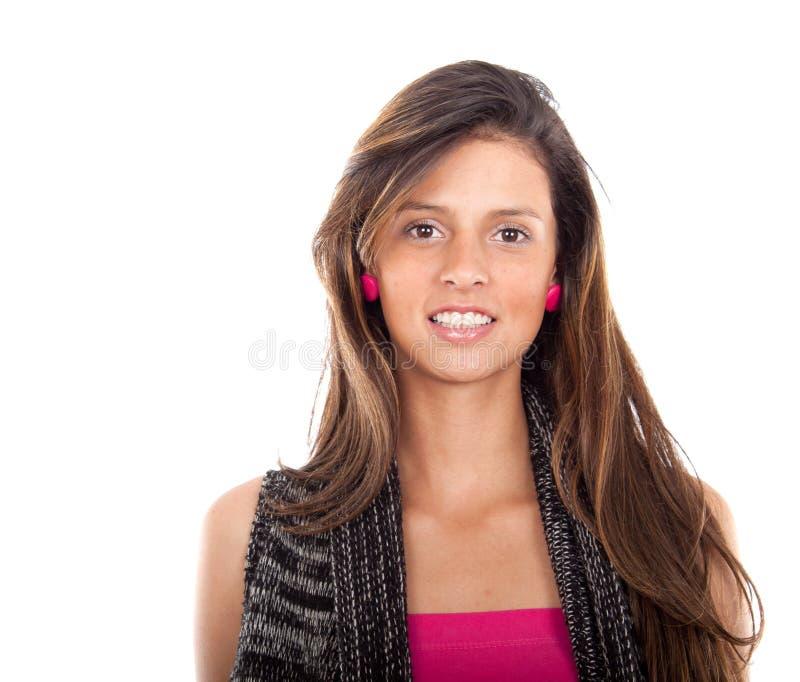 детеныши женщины портрета крупного плана стоковые изображения rf