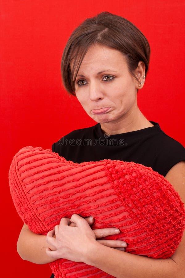 Download детеныши женщины портрета Upset Стоковое Фото - изображение насчитывающей естественно, backhoe: 17615590
