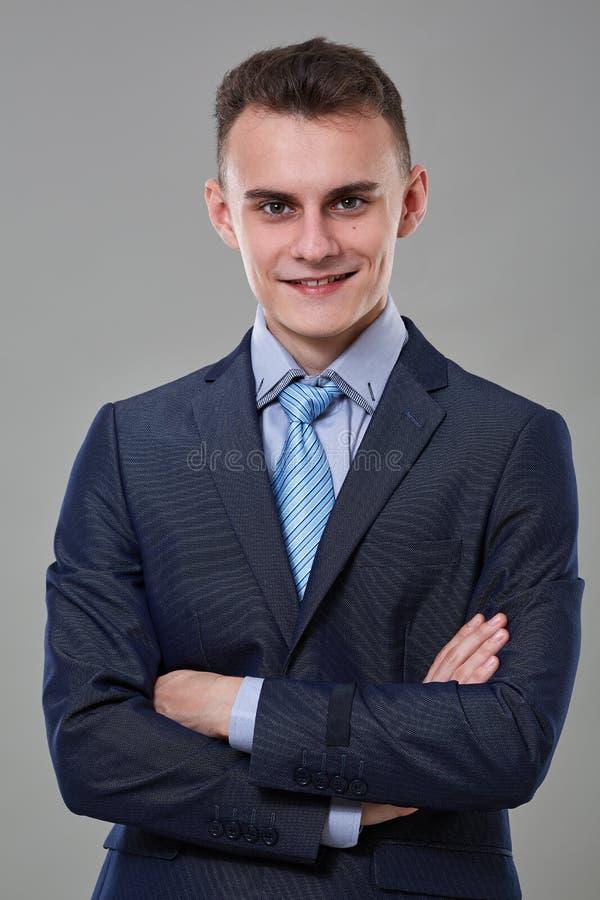 детеныши костюма бизнесмена стоковая фотография rf